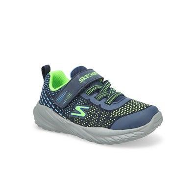 Inf-B Nitro Sprint Sneaker - Navy/Lime