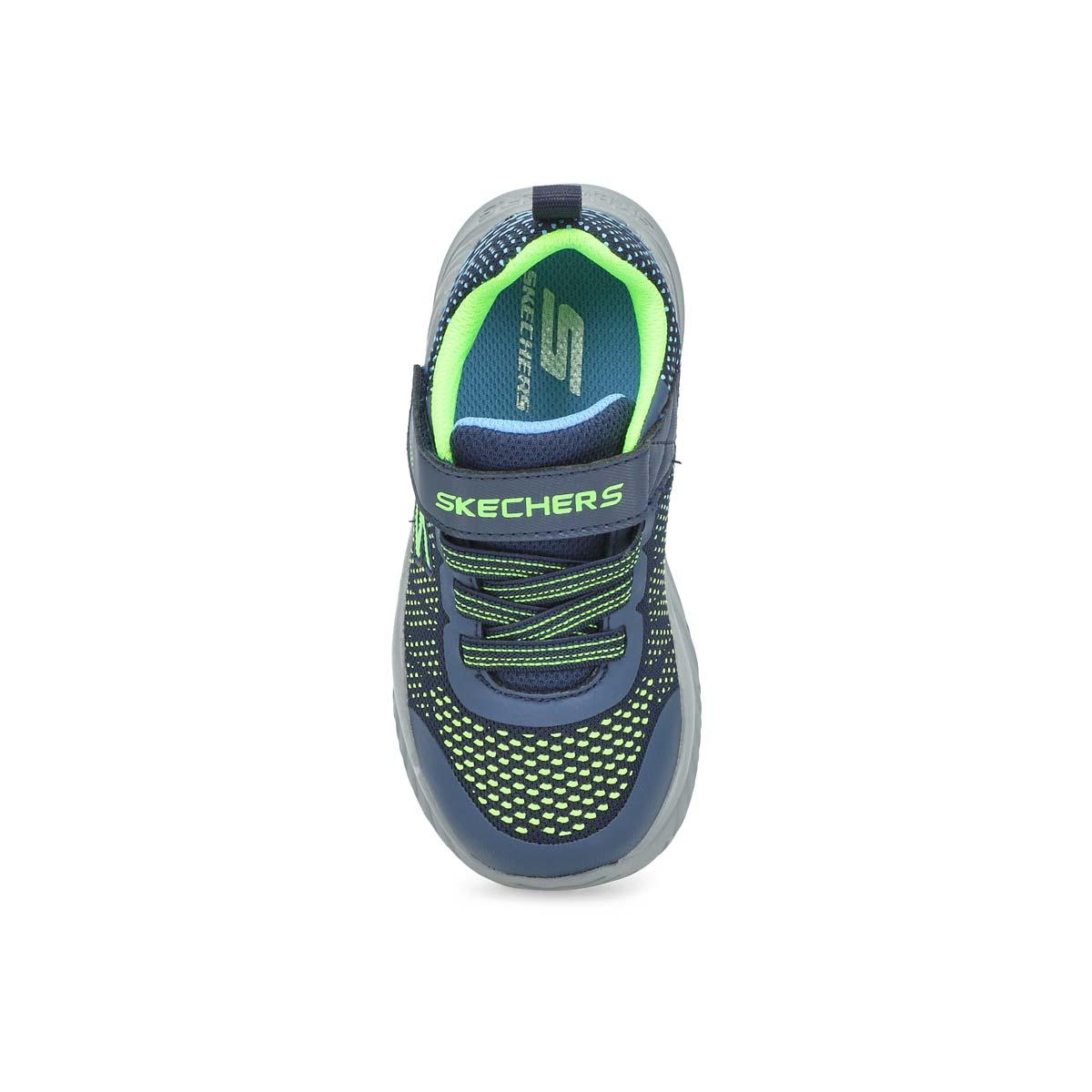 Infants' Nitro Sprint Sneaker - Navy/ Lime