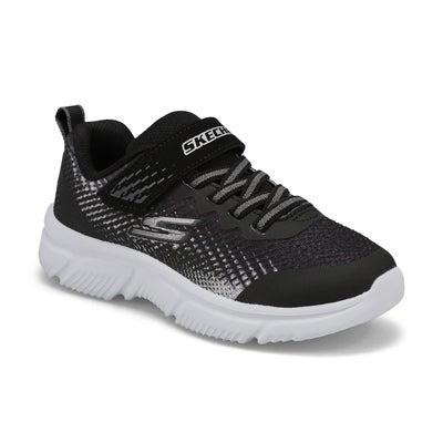 Bys Go Run 650 blk/silver strap sneaker