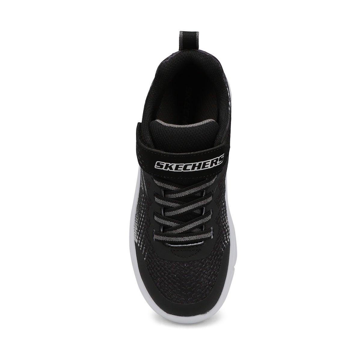Boys' Go Run 650 Sneakers - Black/Silver