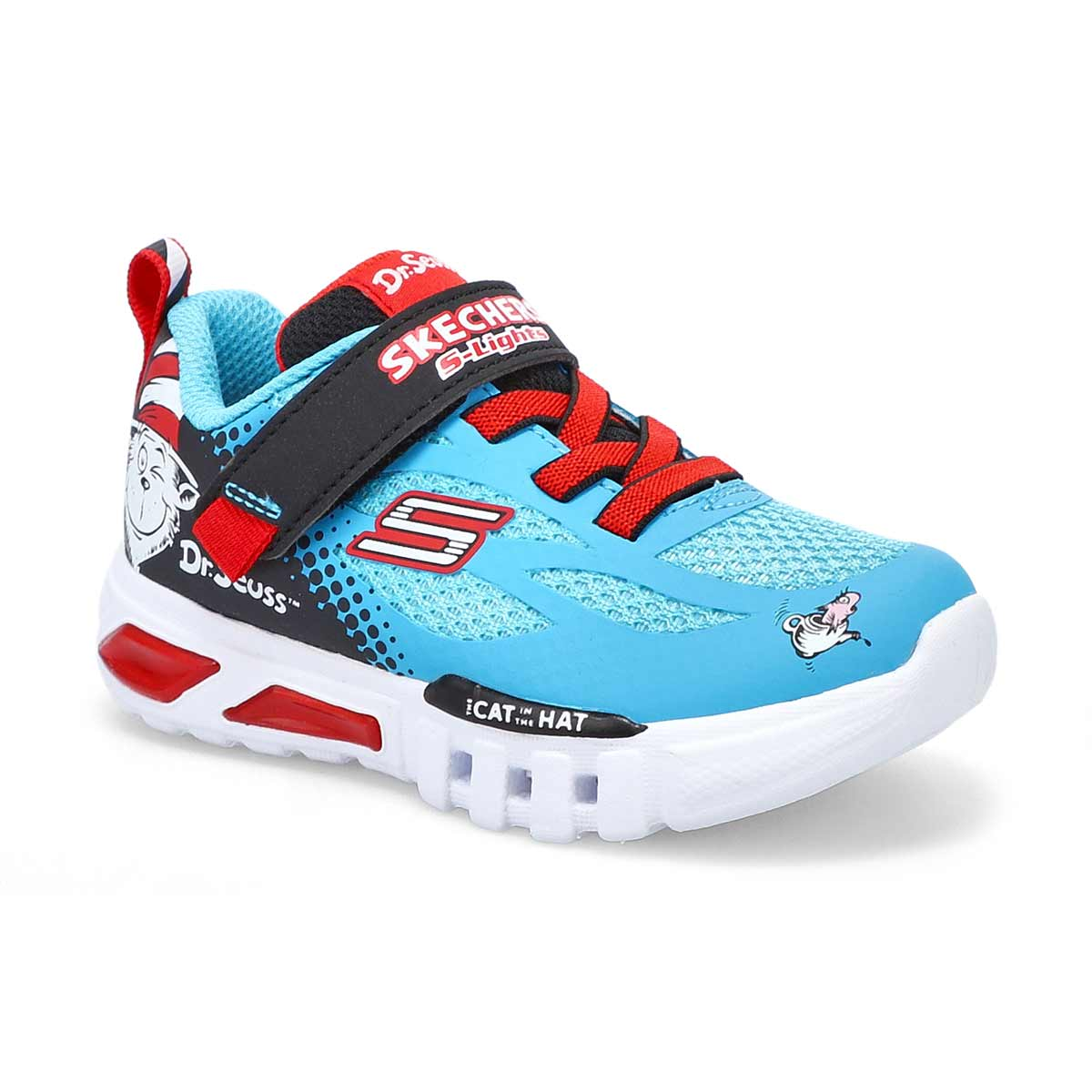 Boys' Flex Glow Dr. Seuss Sneakers - Blue/Black