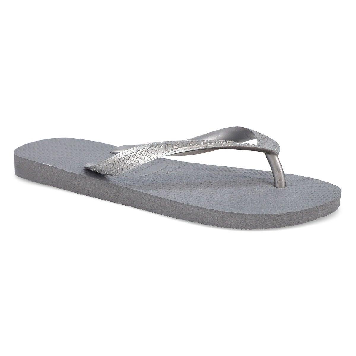 Women's Top Tiras Flip Flops - Steel Grey