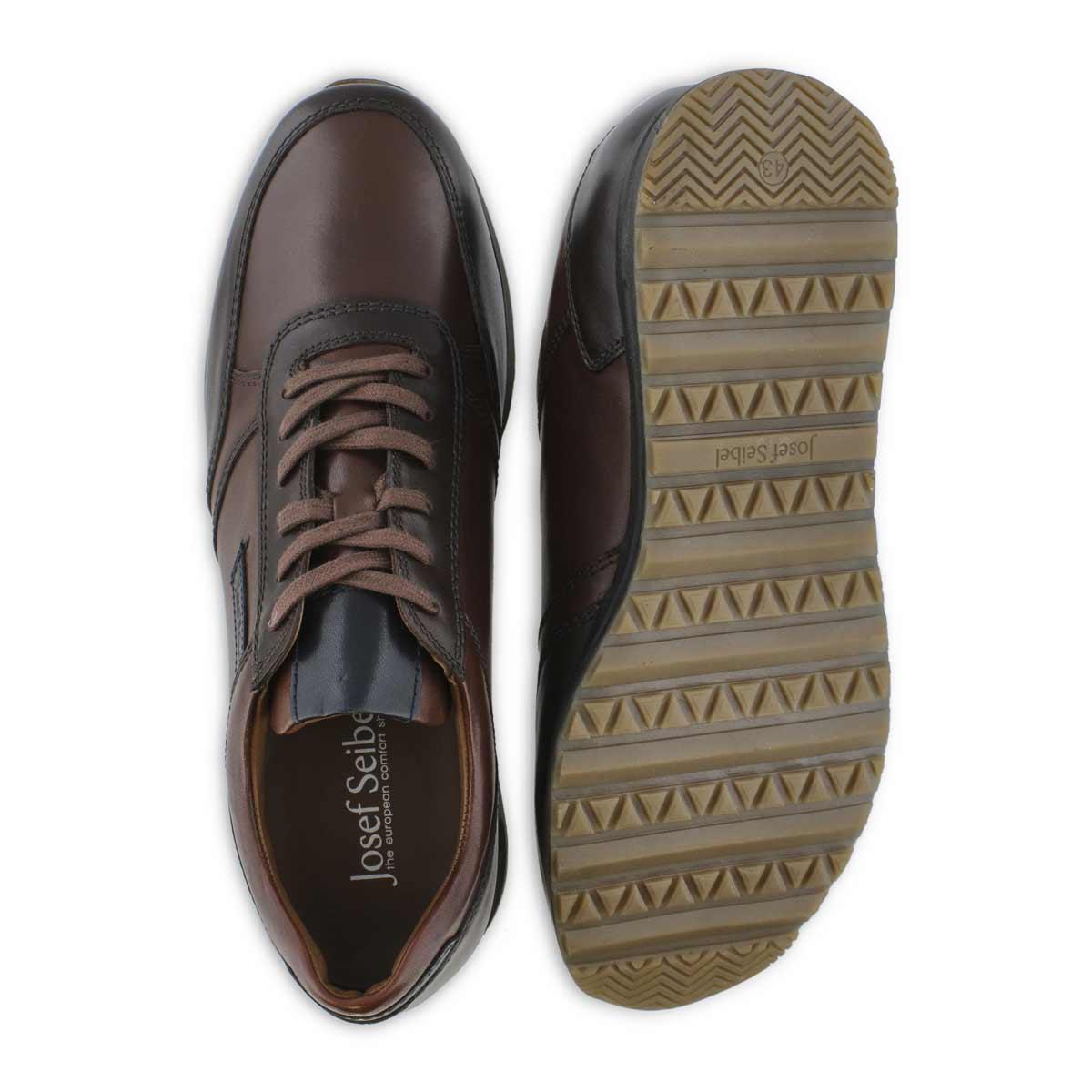Men's THADDEUS 07 cognac lace up sneakers