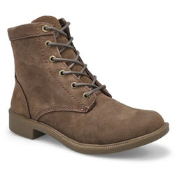 Lds Original brn wtpf lace up ankle boot