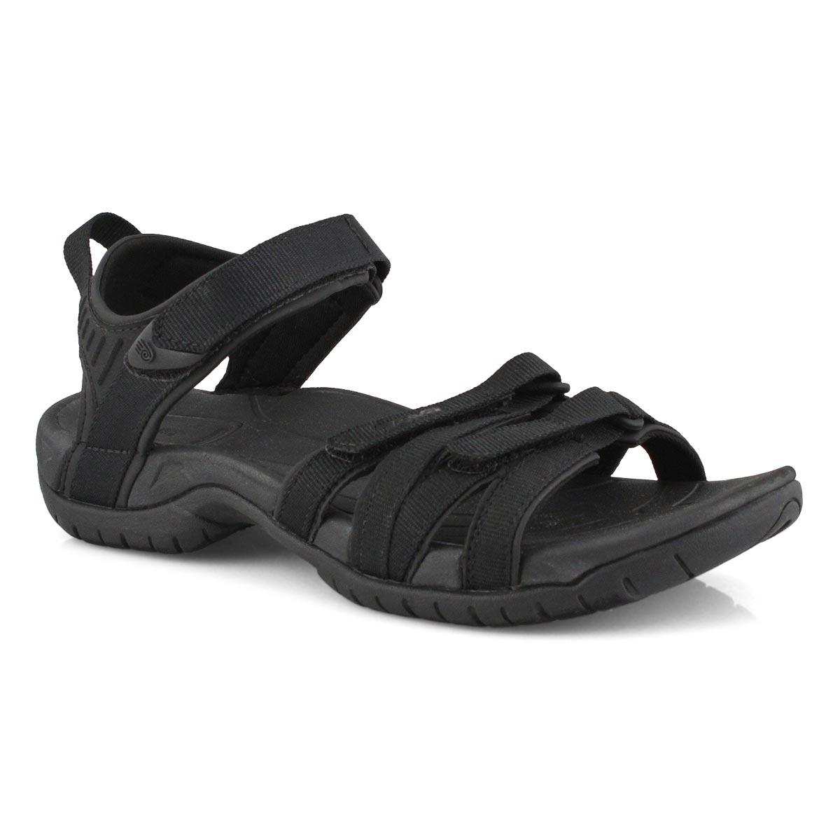 Women's Tirra Sport Sandal - Black/Black