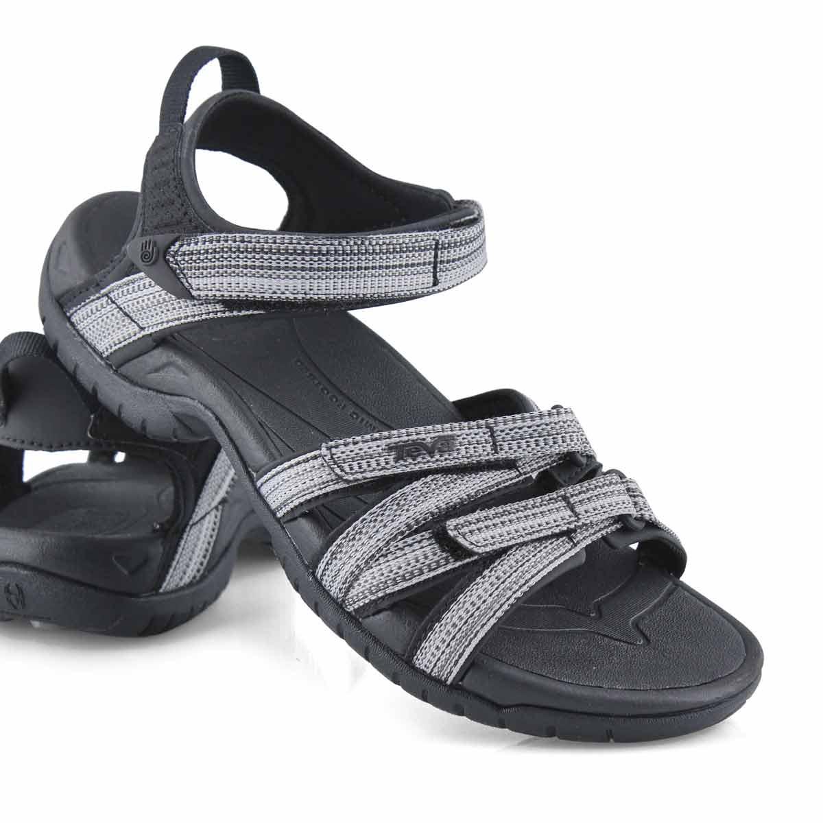 Sandale sport Tirra, noir/blanc, fem