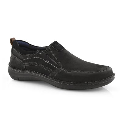 Mns Anvers 48 blk slip on casual shoe