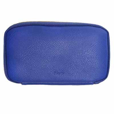 Co-Lab Women's ZIP AROUND cobalt pebble wallet