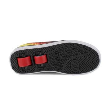 Boys' PRO 20 X2 black/flame skate sneakers