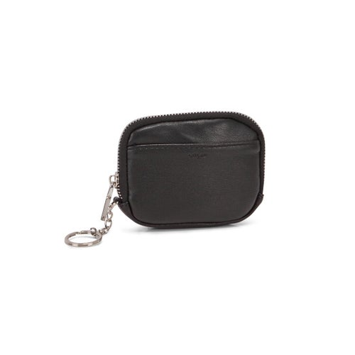 Lds black zip up wallet