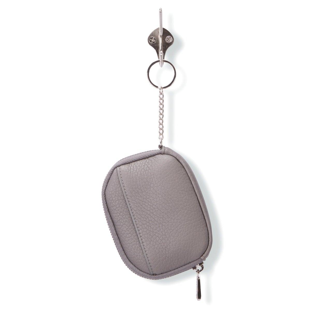 Women's 4888 Zip Up Wallet - Grey