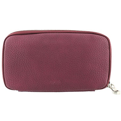 Co-Lab Women's DOUBLE ZIP WORLD wine wallet