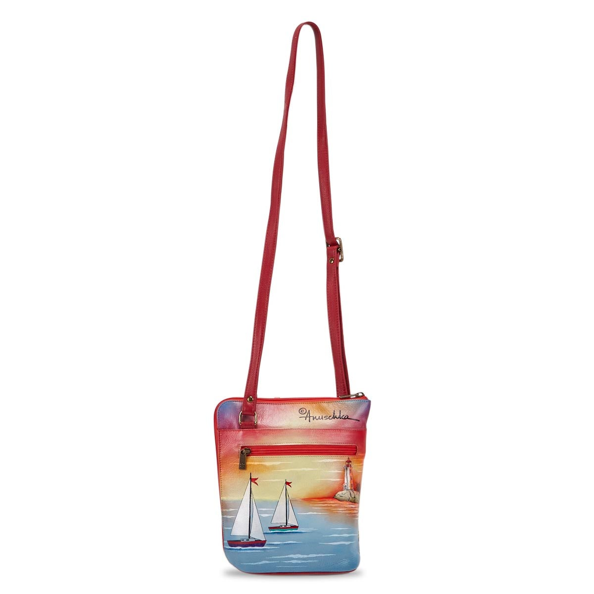 Women's Guilding Light Organizer Crossbody Bag