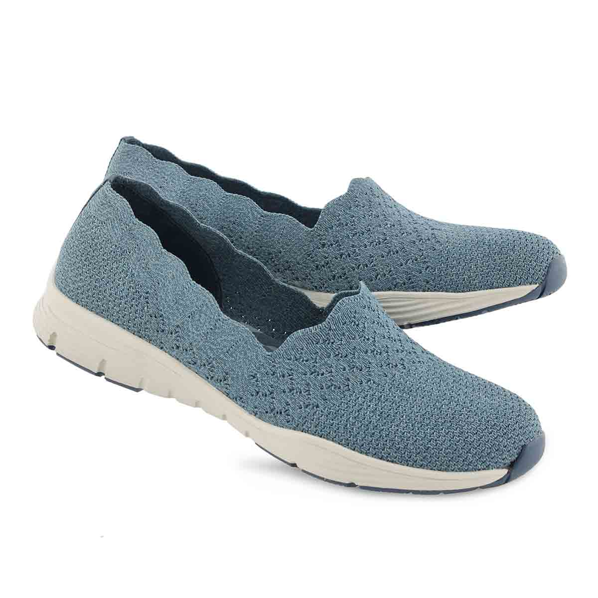 Women's SEAGER STAT denim slip on shoes