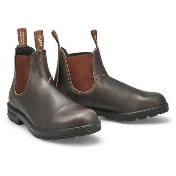 Unisex THE ORIGINAL brown pull-on boots -UK SIZING