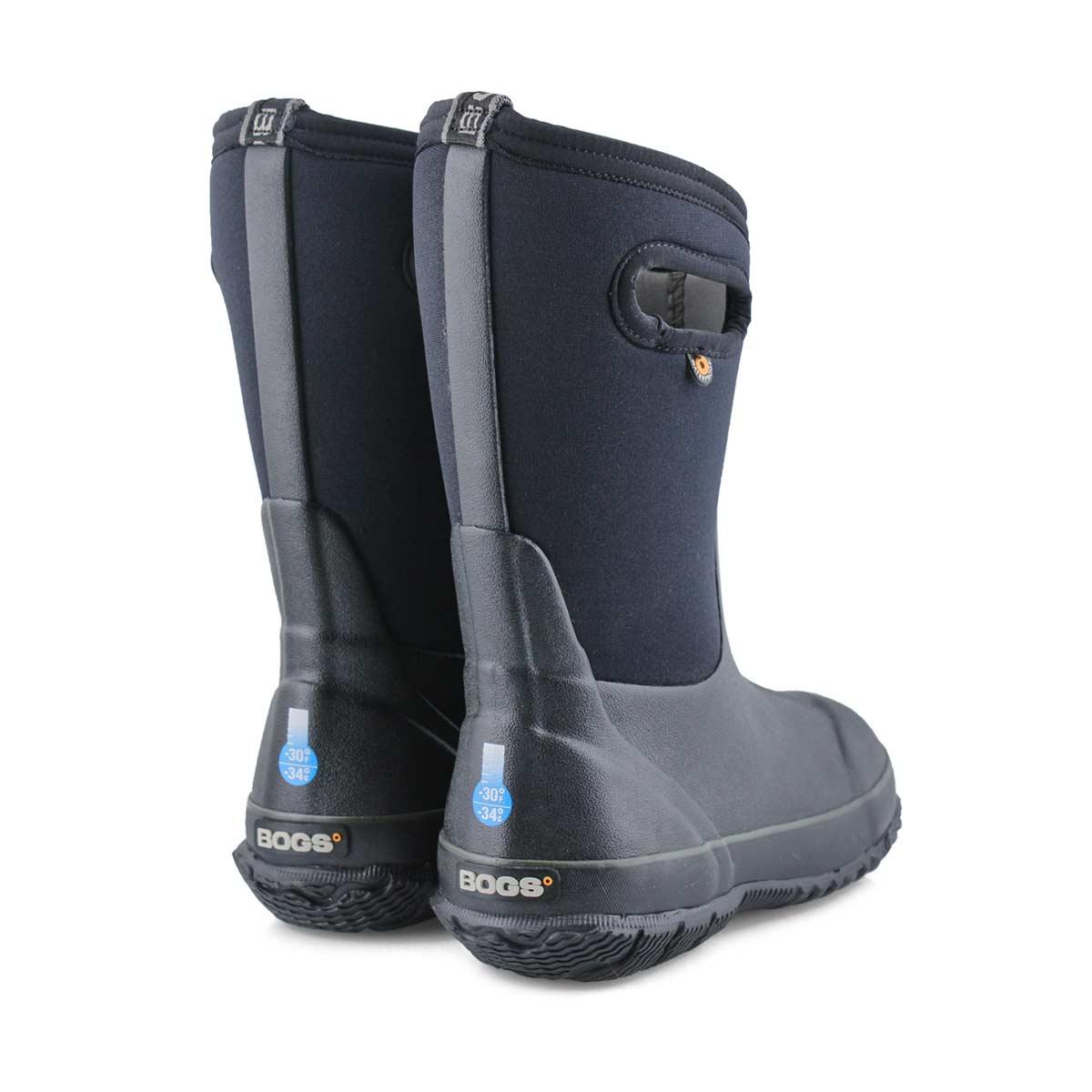 Kid's Classic High Waterproof Boot - Black