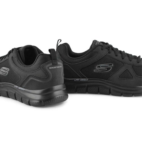 Mns Track Scloric black sneaker- wide