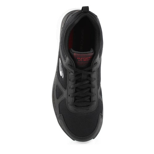 Mns Track Scloric blk/rd sneaker- wide