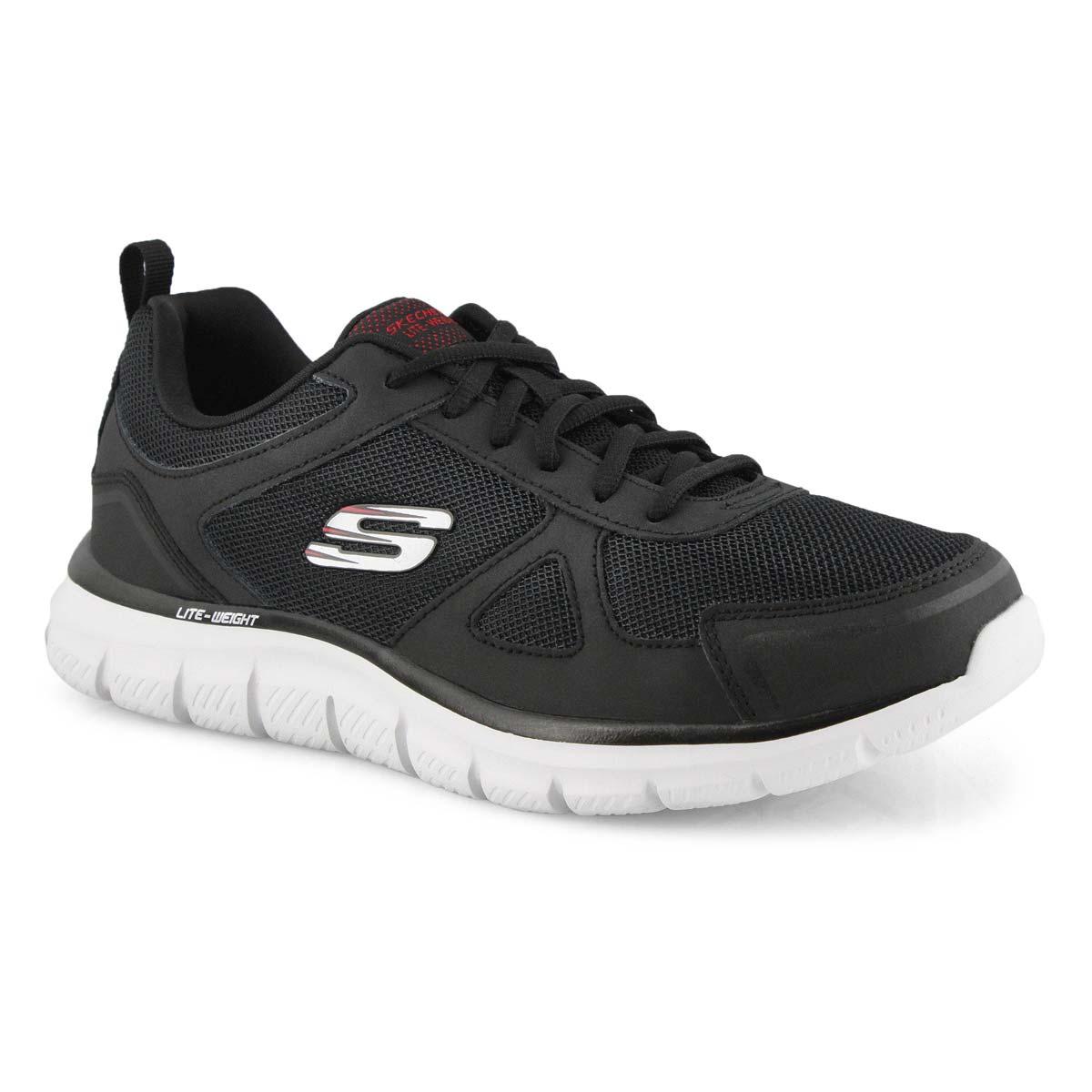 Men's Track Scloric Sneakers Wide - Black/Red
