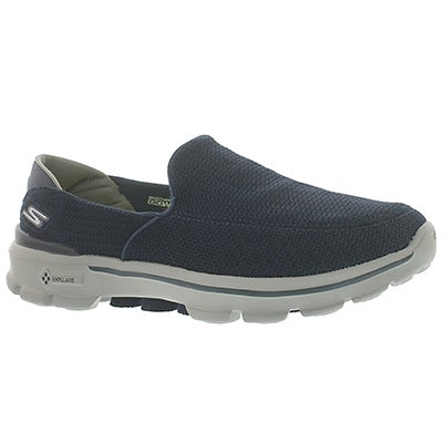 Skechers Men's GOwalk 3 navy/grey slip on shoes
