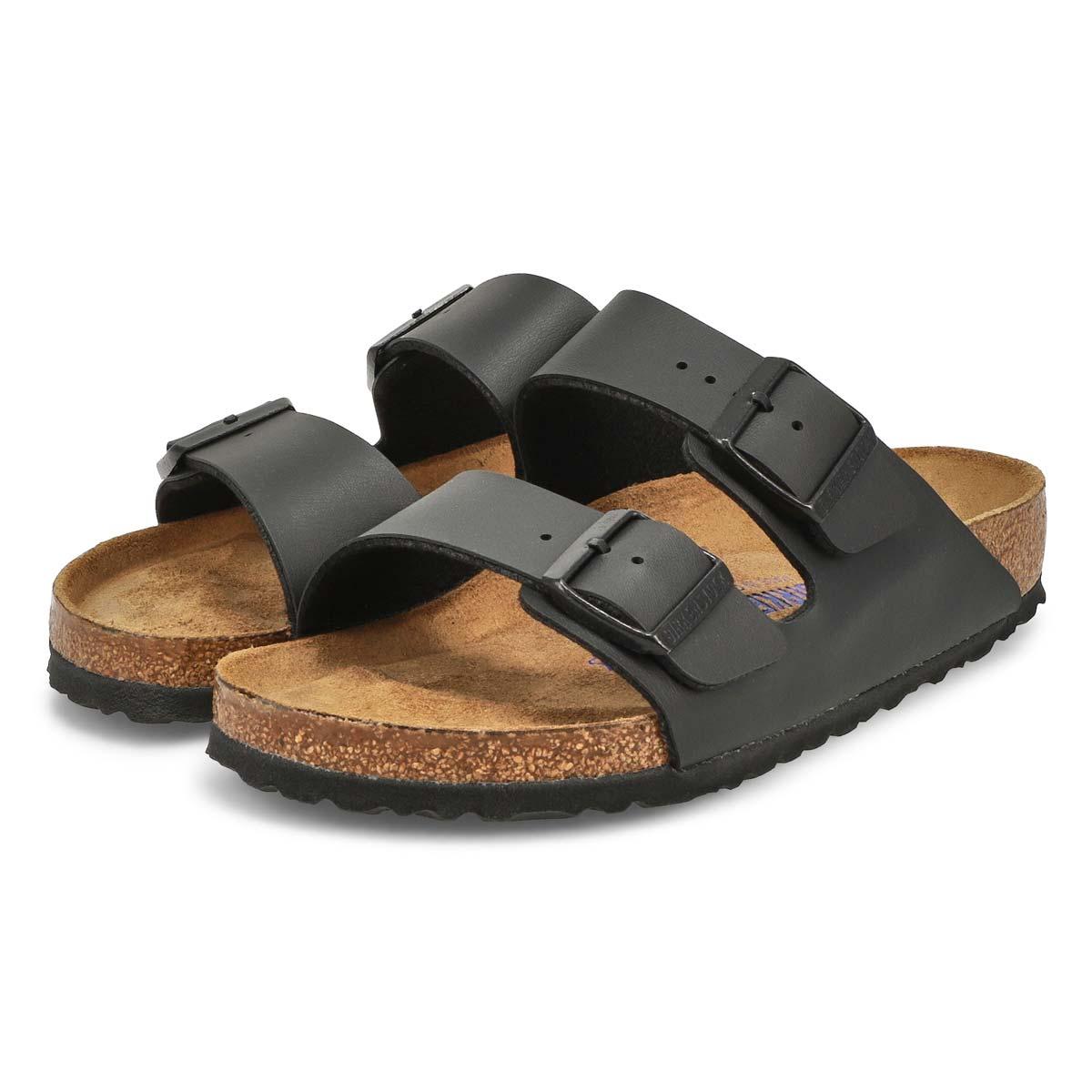 Sandales 2brides ARIZONA SF, noir, femmes