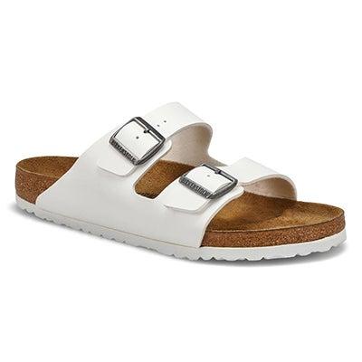 Mns Arizona BF 2 Strap Sandal - White