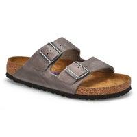 Sandales 2brides ARIZONA OLTR, gris fer, femmes