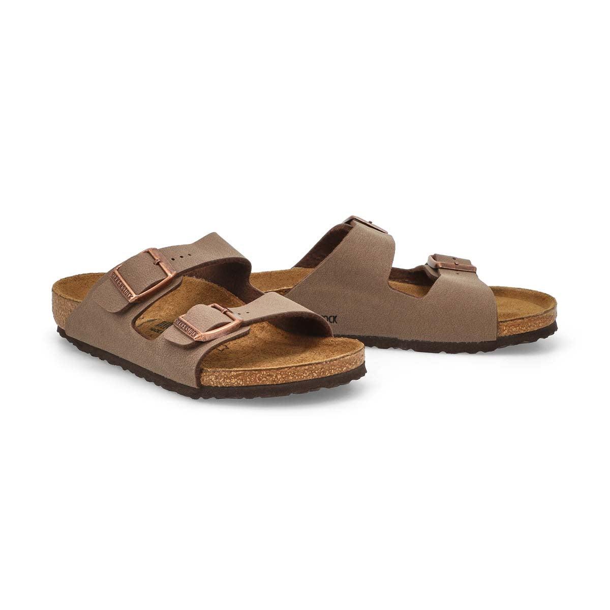Sandale moka ARIZONA, enf -Étroite