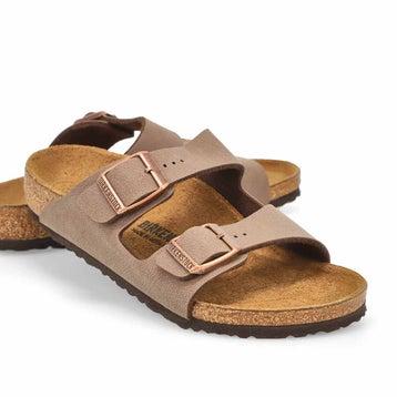 Sandales 2brides ARIZONA, moka, enfants– ÉTROIT