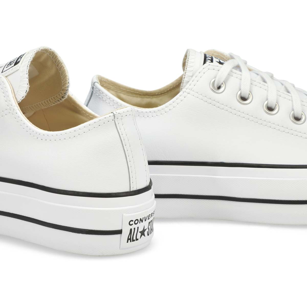Women's All Star Lift Clean Platform Sneaker - Wht