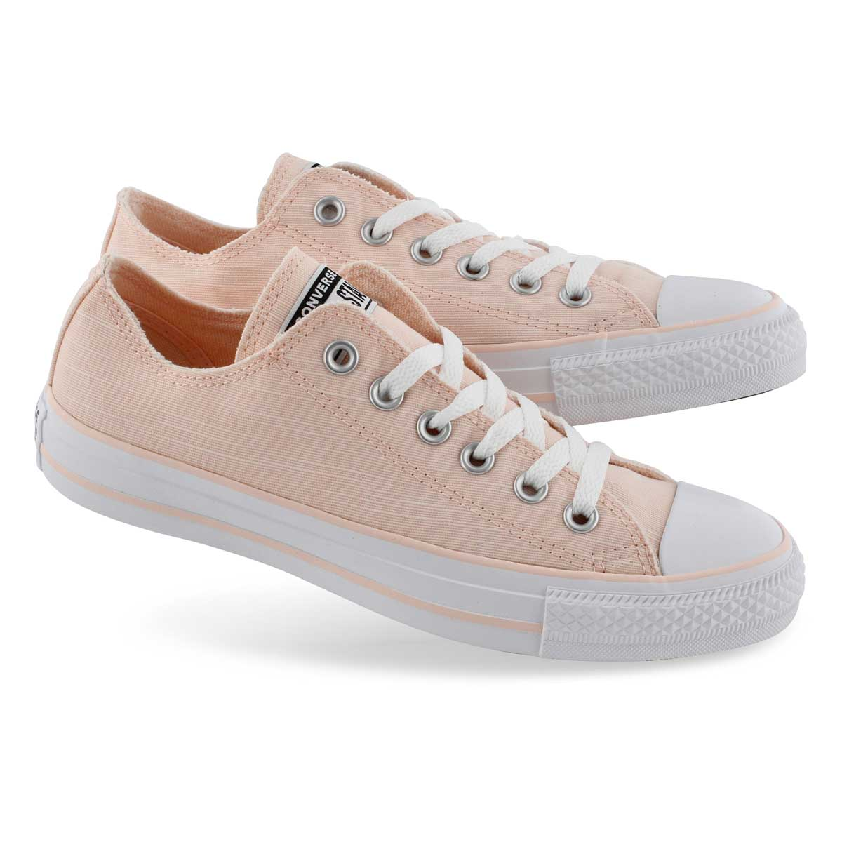 Lds CTAS Seasonal Ox washed coral snkr