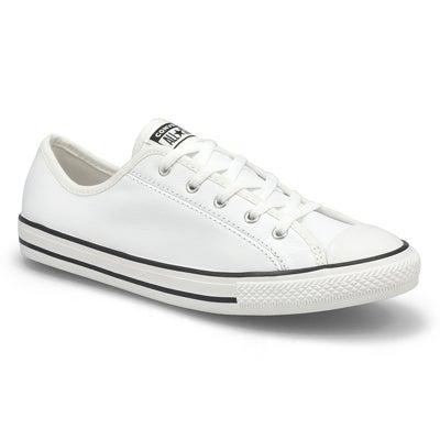 Lds CTAS Dainty Basic Sneaker- White