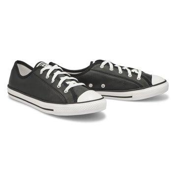 Women's All Star Dainty Basic Sneaker -Black/White