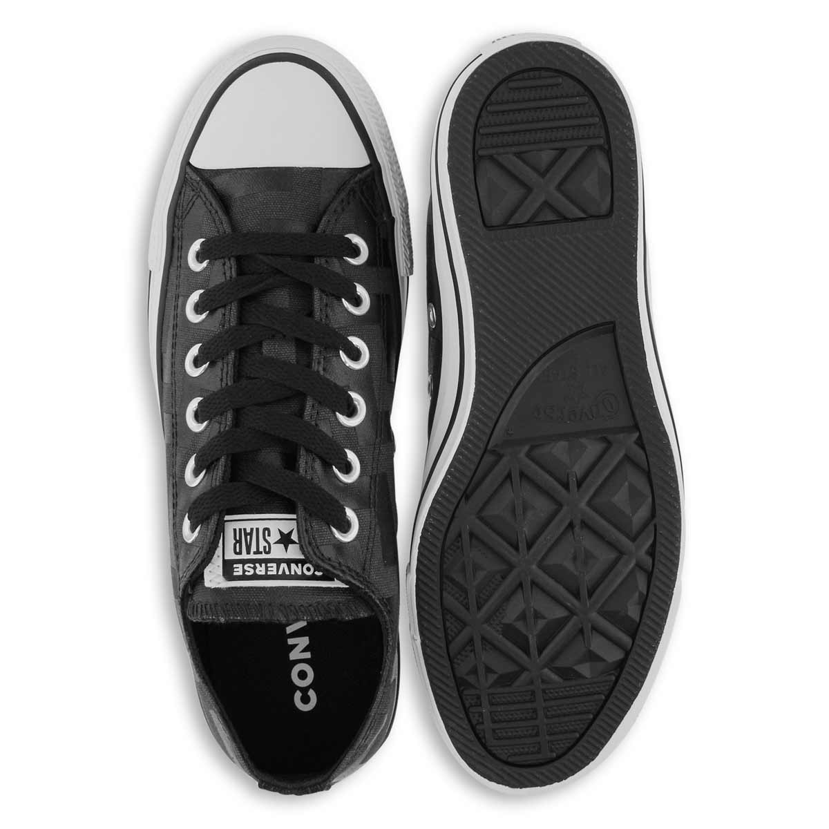 Women's CTAS GLAM DUNK black/black sneaker