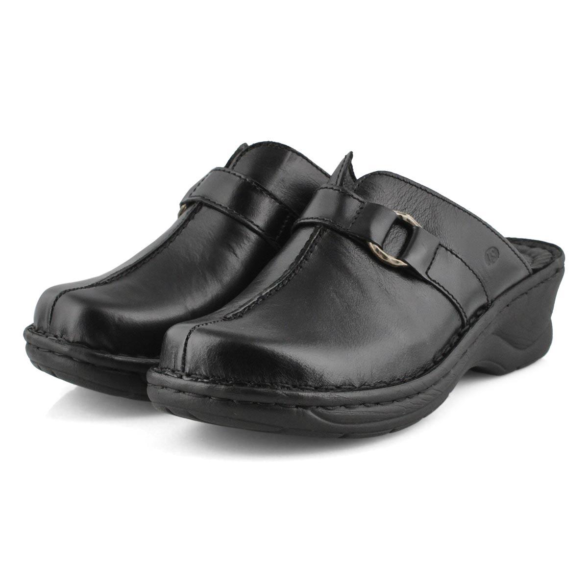 Lds Catalonia 57 black wedge clog