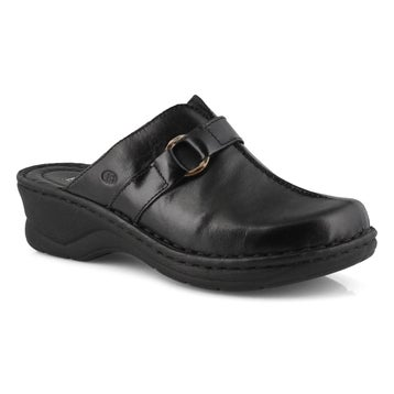 Women's CATALONIA 57 black wedge clogs