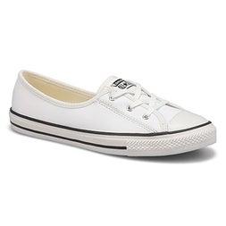 Lds CTAS Ballet Lace white slip on snkr