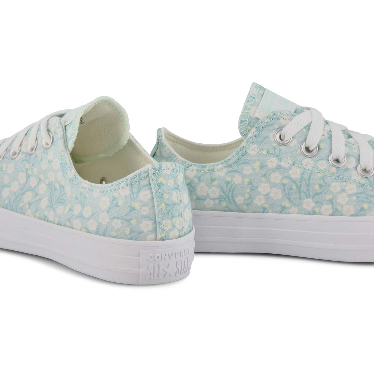 Women's All Star Ditsy Floral Sneaker - Mint