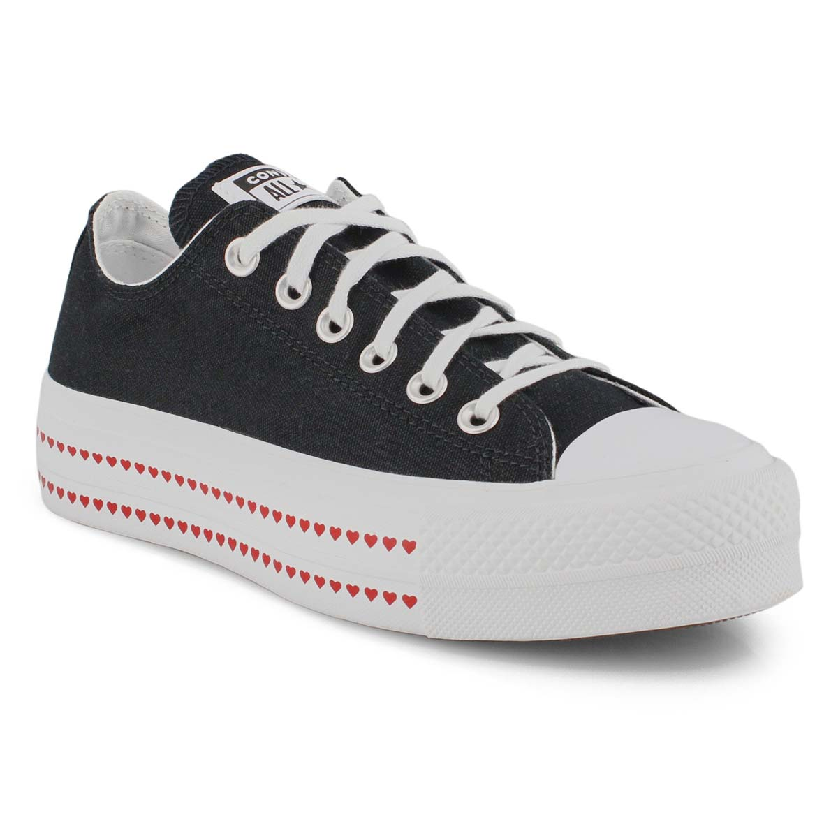 Lds CTAS Lift Love Fearlessly blk snkr