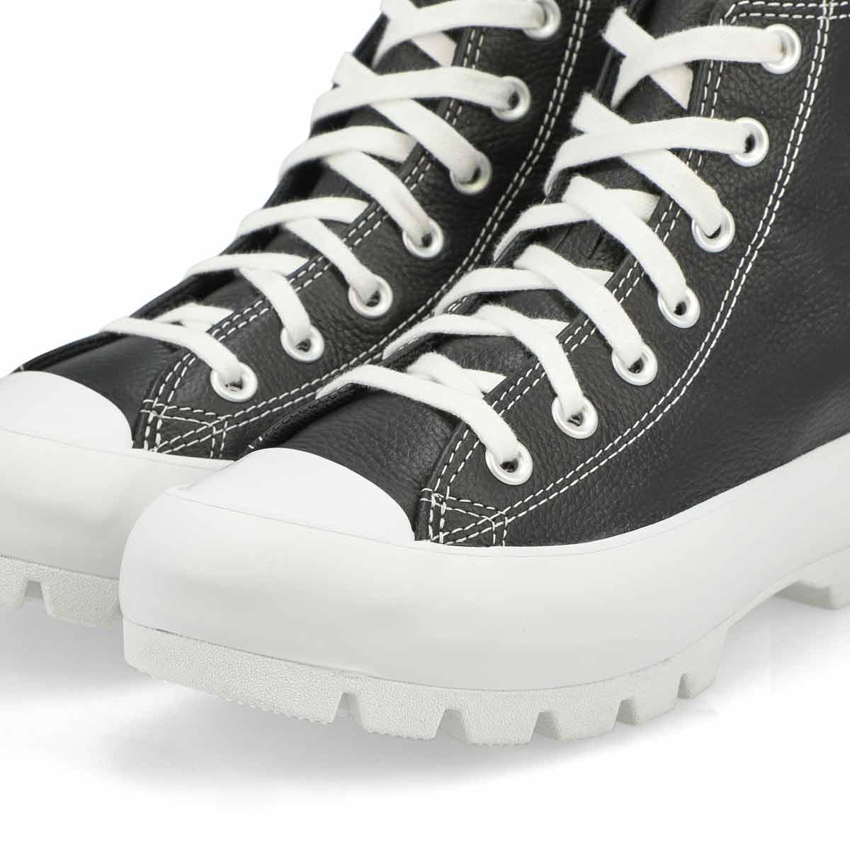 Women's All Star Lugged Hi Top Sneaker - Black