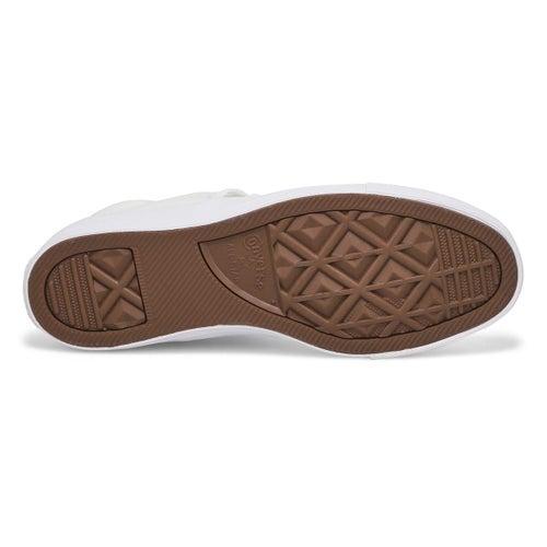 Lds CTAS Madison Ox mono wht sneaker