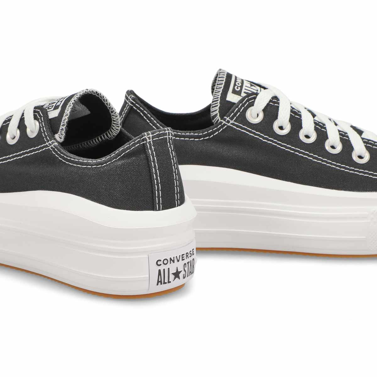 Women's All Star Move Platform Sneaker - Black
