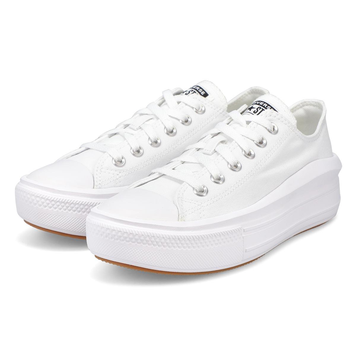 Women's All Star Move Platform Sneaker - White
