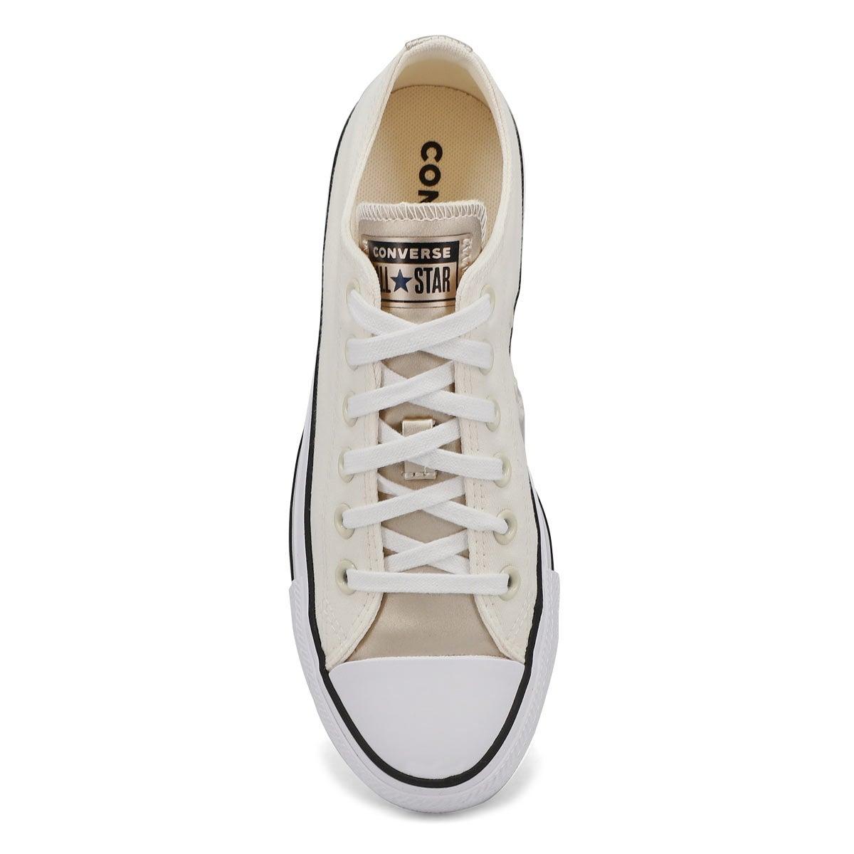 Women's All Star Mono Metal Sneaker -Egert/Lt Gold