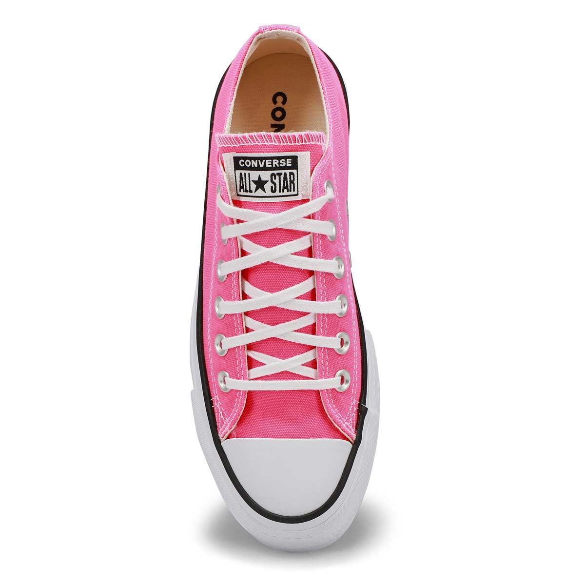 Women's All Star Lift Sneaker -Hyper Pink