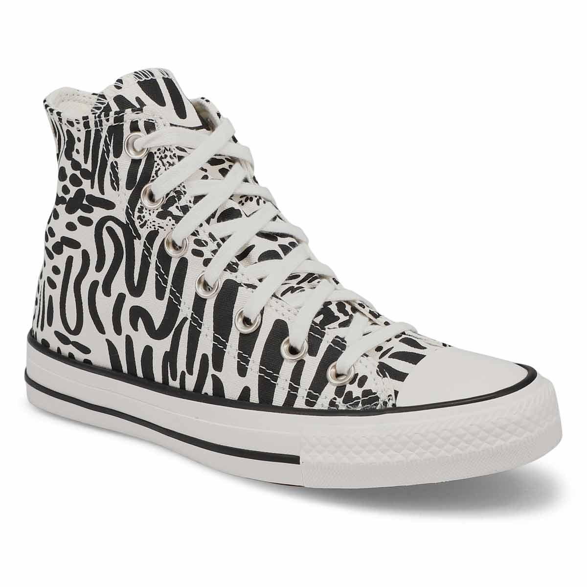 Women's All Star Seasonal Hi Jungle Art Sneaker