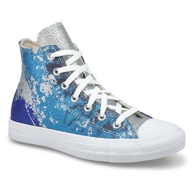 Lds CTAS Shimmer and Shine Hi Snkr-Blue