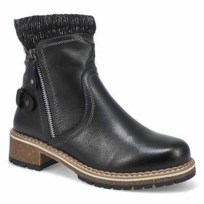 Lds Waylynn 01 Wtpf Ankle Boot- Black