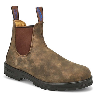 Unisex THE WINTER brown waterproof pull-on boots