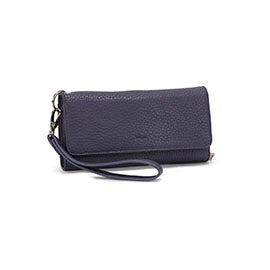 Co-Lab Women's BETH denim tri-fold wristlet